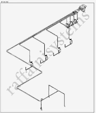 3d progetto aspirarifili per taglierine converting