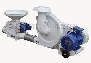 trasporto-pneumatico-granuli-macinati-ventilatore-centrifugo-valvola-rotativa