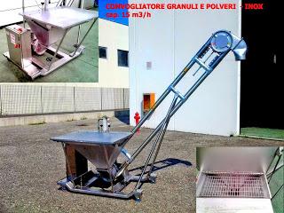 Convogliatore-aeromeccanico-mobile-carrellato-INOX304-polveri-granuli