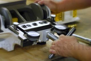 Manutenzione lame tagliatore rifili Multicutter