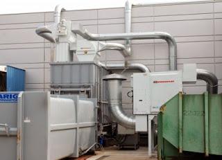 Impianti-aspirazione-trasporto-pneumatico-rifili-scarti-SEPARATORE-ROTATIVO-filtrazione-aria