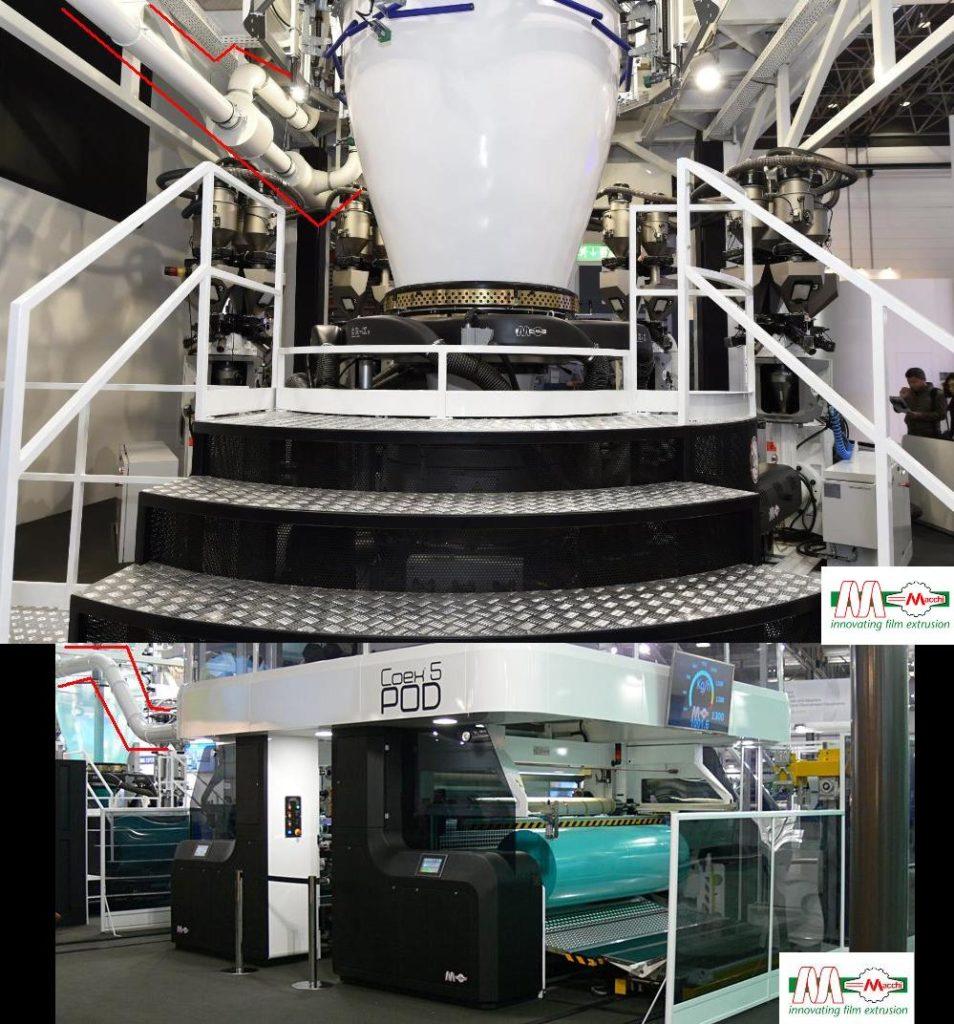 MACCHI film extrusion system