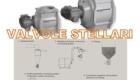 Rotocelle, valvole rotative, valvole stellari per dosaggio e trasporto pneumatico