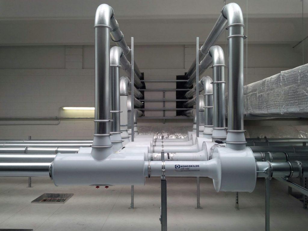 Batteria di Venturi con Ritorno Aria ad alte prestazioni per rifili converting alluminio