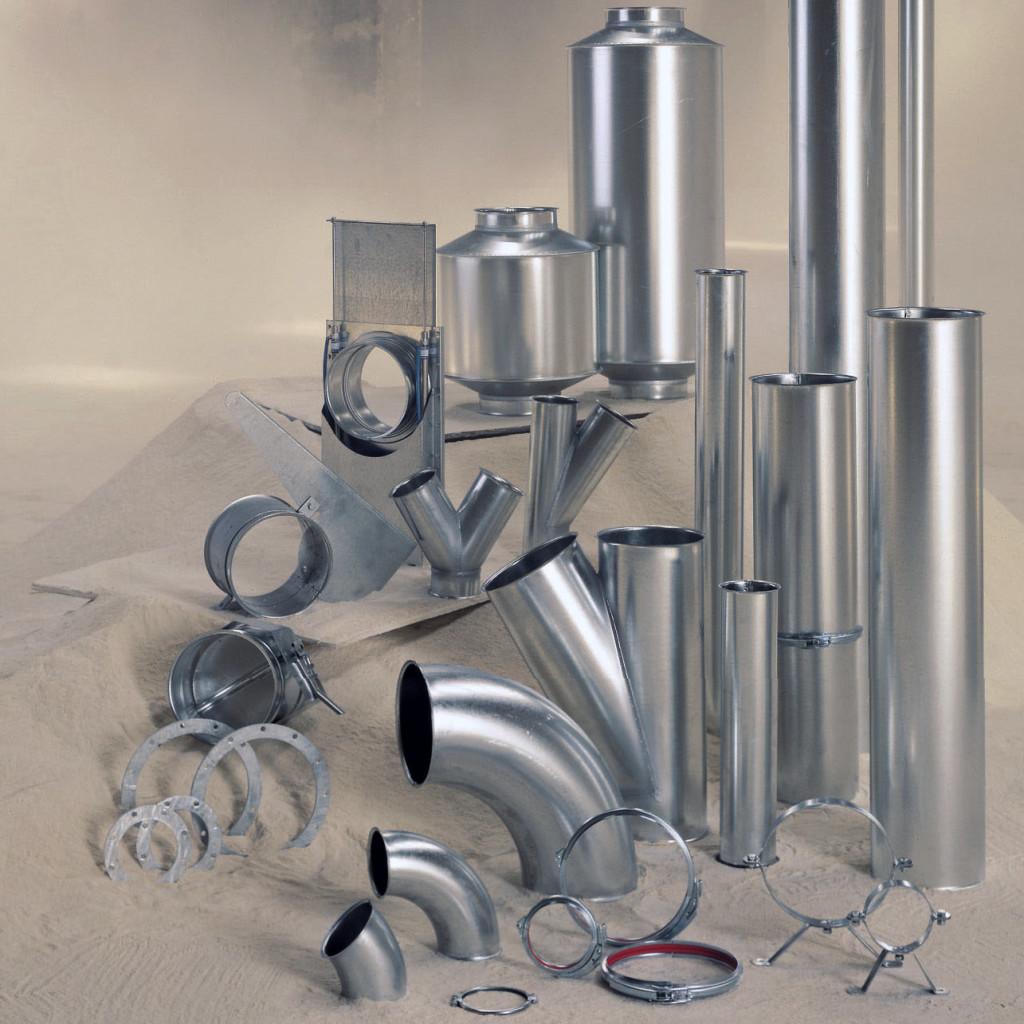 tubazione modulare linea tubi FK per aspirazione e trasporto pneumatico