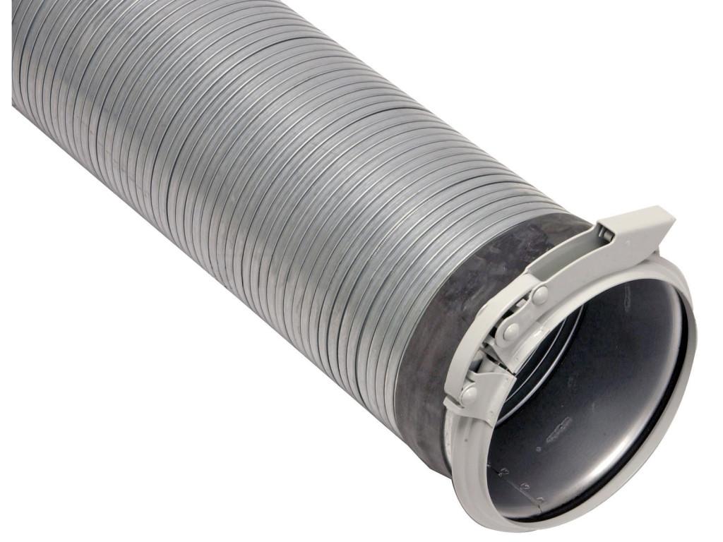 tubo flessibile in acciaio aggraffato OK160 per trasporto pneumatico