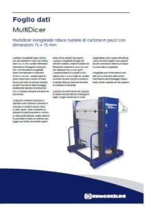 MultiDicer per sfrido di fustellatrici e autoplatine Bobst PDF