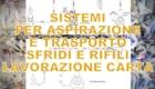 Sistemi per aspirazione e trasporto sfridi e rifili lavorazione carta.