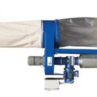 kit aspirarifili compatto, con cutter per riduzione volumi.