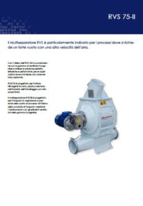 Separatori rotativi aria-rifili mod. RVS 75ii PDF