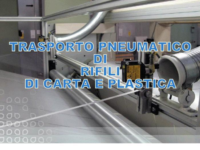 ASPIRAZIONE RIFILI DI CARTA PLASTICA ALLUMINIO