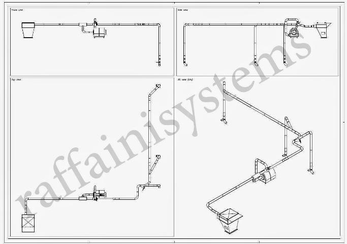 3d sistema aspirarifili e scarti packaging