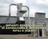 Impianti centralizzati di aspirazione e trasporto rifili e scarti carta cartoncino cartone