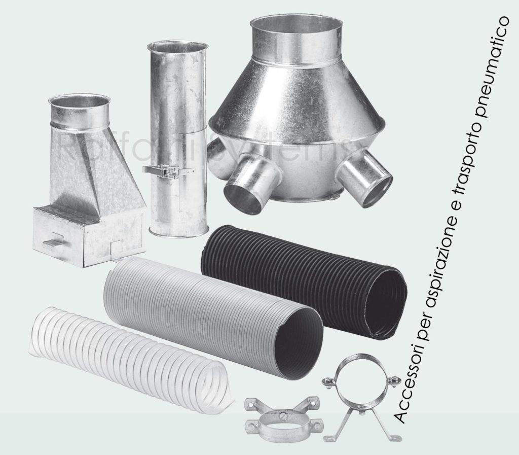 Accessori per sistemi di aspirazione e trasporto pneumatico
