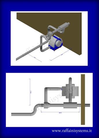 concetto 3d aspirarifili con venturi