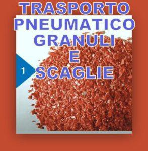1) Riciclo degli scarti di granulati plastici