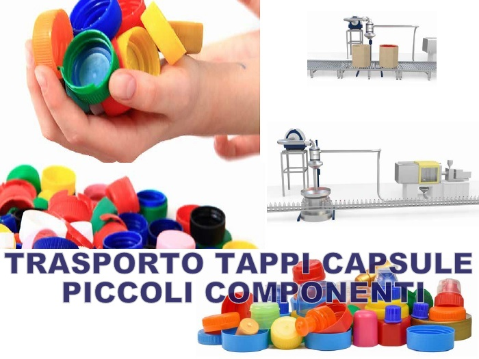 trasporto tappi capsule chiusure